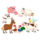Family Farm Animals - GraphicRiver Item for Sale