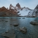 Laguna De Los Tres and Mount Fitz Roy in the Background, Patagonia, Argentina - VideoHive Item for Sale