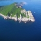 Drone Shoot along the Coast of Russia on a Sunny Day - VideoHive Item for Sale