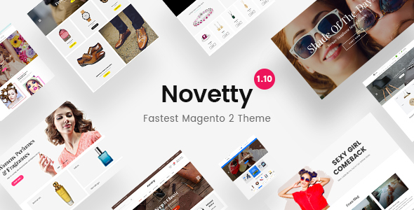 Image of Novetty - Fastest & Most Customizable Magento 2 Theme