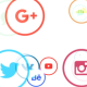 Light Social Networks Icons Background - VideoHive Item for Sale
