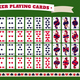 Full Deck Of Poker Playing Cards