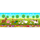 Family Farm Animals in Nature - GraphicRiver Item for Sale