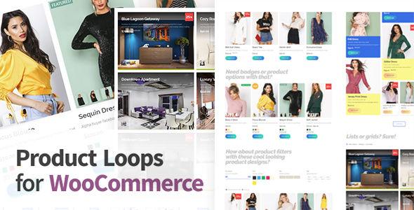 Product Loops for WooCommerce - 100+ Awesome styles and options for your WooCommerce products            Nulled