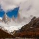 Mount Fitz Roy at Dawn. Argentina, Patagonia. - VideoHive Item for Sale