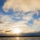 Dramatic Sunset Over the Lake - VideoHive Item for Sale
