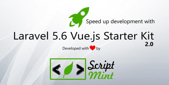 Laravel 5.6 Vue.js SPA Bootstrap Admin Starter Kit - CodeCanyon Item for Sale