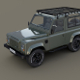 1985 Land Rover Defender 90 with interior ver 5 - 3DOcean Item for Sale