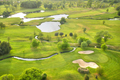 Top view of a golf course - PhotoDune Item for Sale