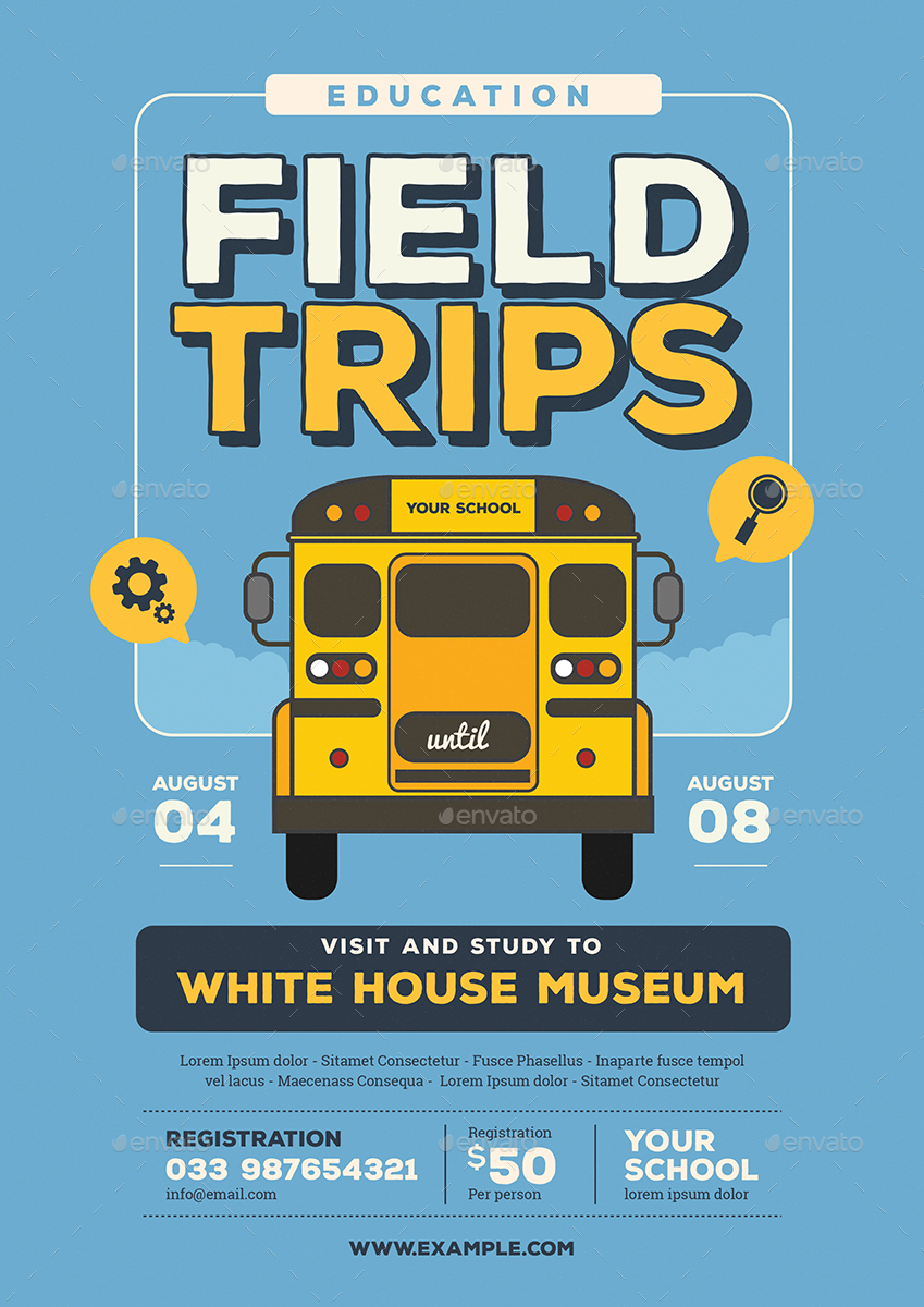 Field Trip Event Flyer