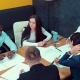 Group of Multiethnic Architects Studying a Construction Plan in a Meeting. Businessmen at a Meeting - VideoHive Item for Sale