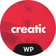 Creatic - One Page Creative Parallax WordPress Theme - ThemeForest Item for Sale