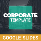 Corporate Google Slides - GraphicRiver Item for Sale
