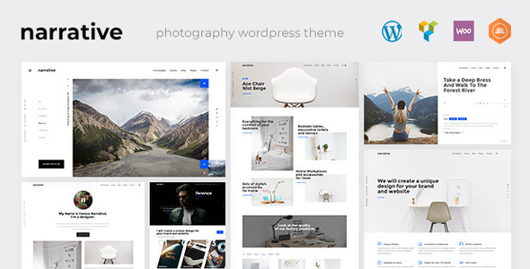 Photography | Narrative Photography WordPress for Photography
