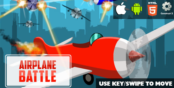 Airplane Battle - HTML5 Game (CAPX)            Nulled