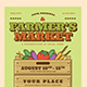 Farmer Market Event Flyer - GraphicRiver Item for Sale