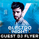 Electro Night Instagram + Facebook Cover - GraphicRiver Item for Sale