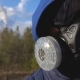 Young Man Standing in a Respirator - VideoHive Item for Sale