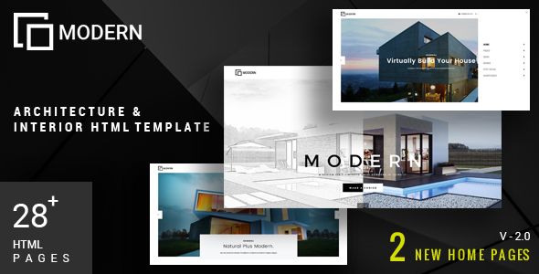 Image of Modern - Architecture & Interior Template