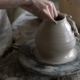Potter Sculpts a Vase on a Potter's Wheel - VideoHive Item for Sale
