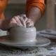 Potter Sculpts a Vase on a Potter's Wheel - VideoHive Item for Sale