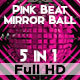 Pink Beat Mirror Ball Vj Loops - VideoHive Item for Sale