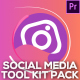 Social Media Pack Toolkit | MOGRT for Premiere Pro