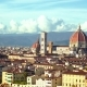 Beautiful Panorama of the Duomo in Florence, Italy - VideoHive Item for Sale