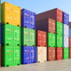 Cargo Containers - VideoHive Item for Sale