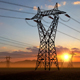 Pylons of High Voltage Power Line 4k - VideoHive Item for Sale