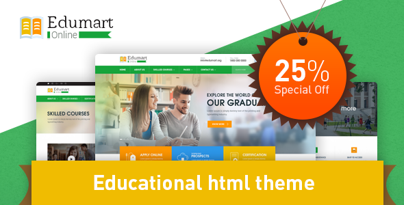 Edumart - Education Template