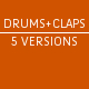 Percussive Drums and Claps