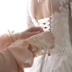 Girl Dresses Beautiful White Dress for the Wedding - VideoHive Item for Sale