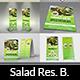 Salad Restaurant Advertising Bundle - GraphicRiver Item for Sale