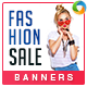 Fashion Sale Banner Set