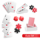 Casino Poker Realistic Set