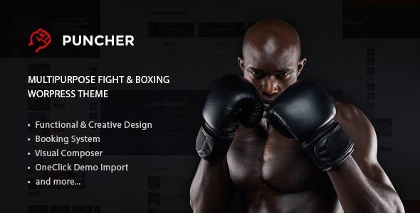 Puncher – Responsive Multipurpose WordPress Theme