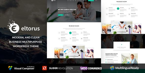 Eltorus  - Multipurpose WordPress Theme 7