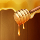Dripping Melting Honey Background