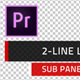Clean Titles & Lower Thirds  | MOGRT for Premiere Pro - VideoHive Item for Sale