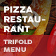 Pizza Restaurant Trifold Menu 2
