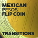 Mexican Pesos Flip Coins Transitions - VideoHive Item for Sale