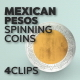 Mexican Pesos Spinning Coins - VideoHive Item for Sale