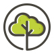 Cloud Tree Logo Template