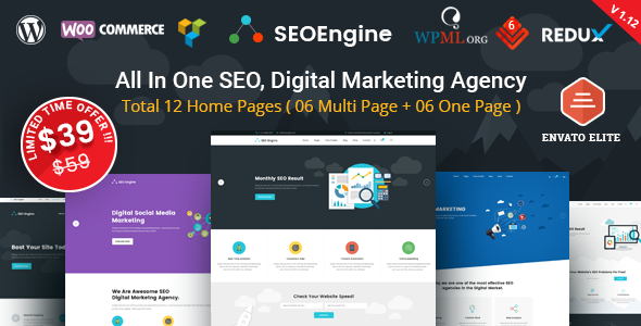 Image of SEO Engine - SEO & Digital Marketing Agency WordPress Theme