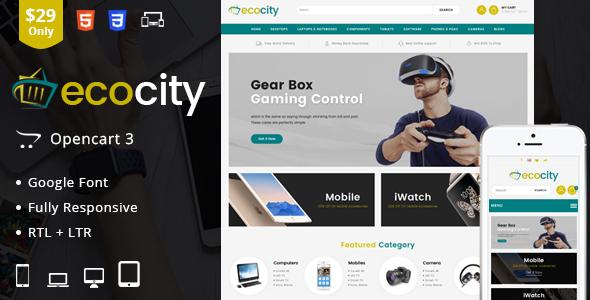 EcoCity – OpenCart Responsive Theme