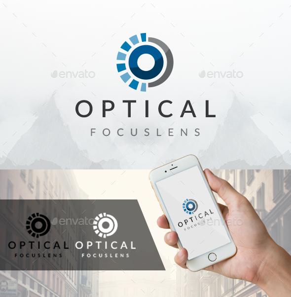 Eye Focus Logo - Objects Logo Templates