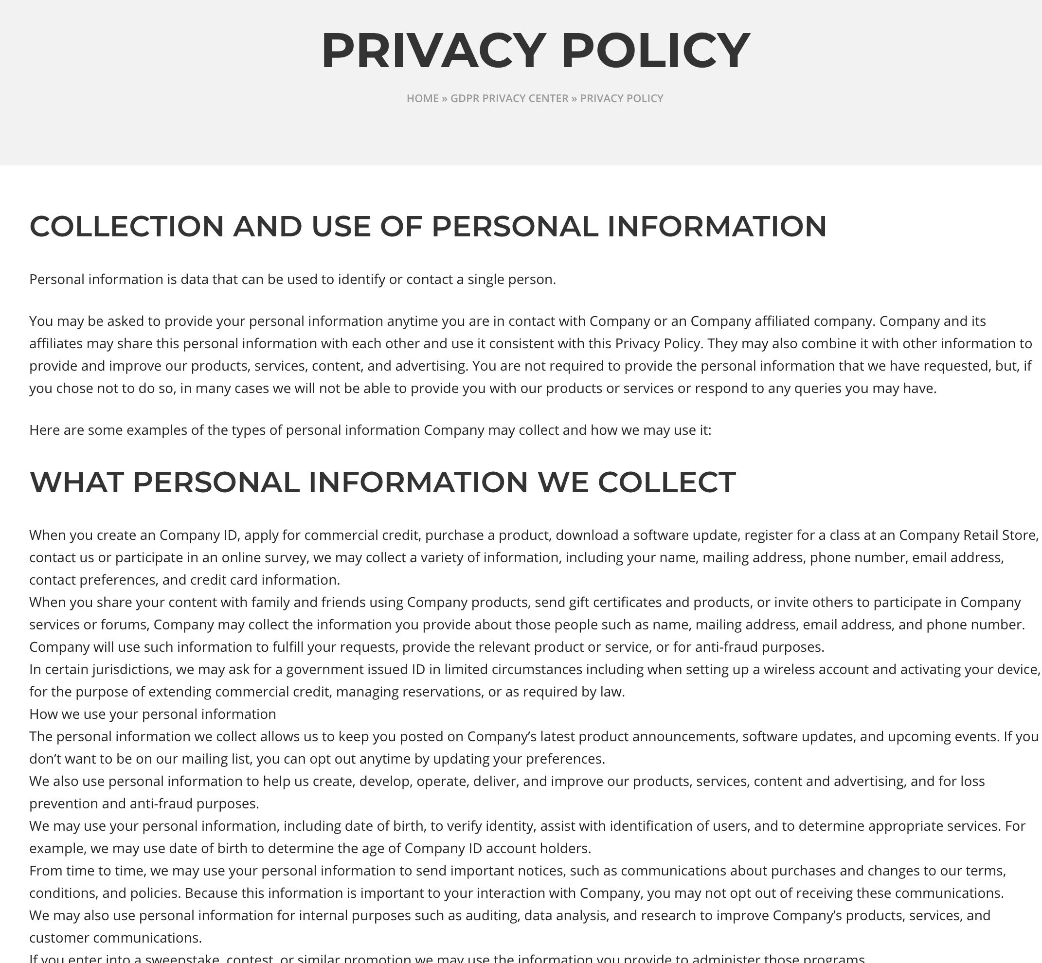 Wordpress Gdpr By Welaunch Codecanyon