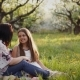 Beautiful Mother and Her Little Daughter and Son Outdoors - VideoHive Item for Sale