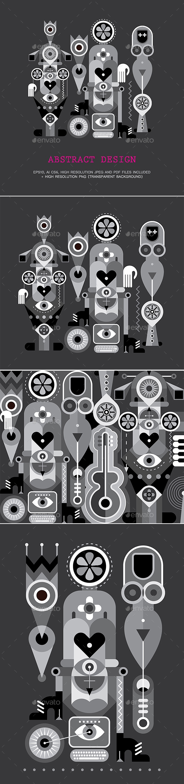Art Abstract Design - Objects Vectors